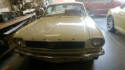1966 Ford Mustang Standard 1966 Mustang Coupe