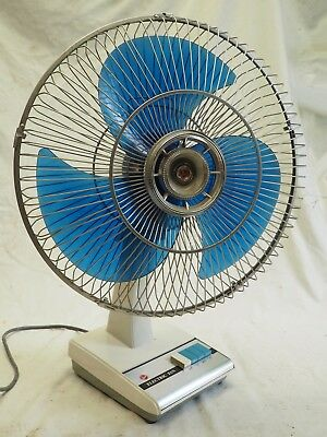 Hoover Large Electric Fan Working Well Retro
