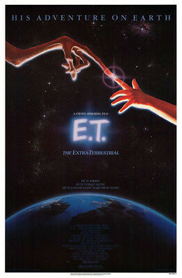 E.T. The Extra-Terrestrial (1982) original movie poster single-sided rolled