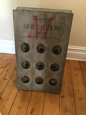 reproduction french wine rack