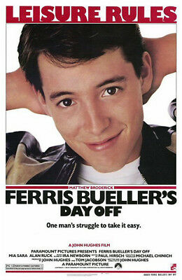 Ferris Bueller's Day Off (1986) original movie poster single-sided rolled