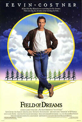Field of Dreams (1989) original movie poster single-sided rolled