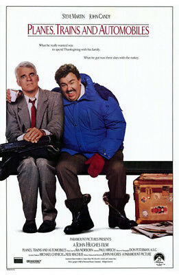 Planes, Trains & Automobiles (1987) original movie poster single-sided rolled
