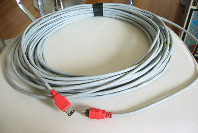 Very long firewire IEEE 1394 cable 4 pin to 6 pin