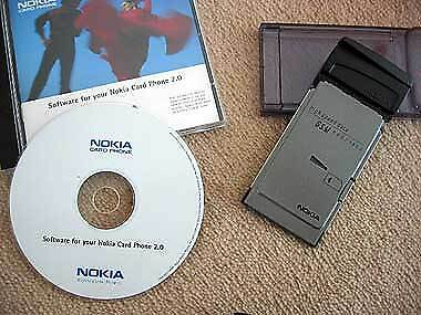 Nokia PCMCIA CardPhone Mobile laptop phone card for GSM