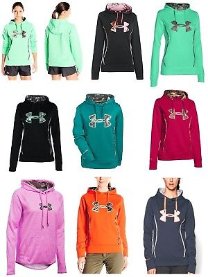 New Women's Under Armour Storm Caliber Hoodie SM MD LG XL 2XL $54~$65~$75