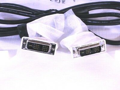 NEW DVI Cable M-M DVI-D 2.5ft Long Cord 18-Pin Monitor Cable