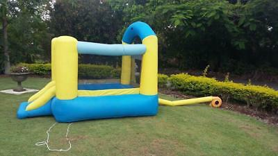 Jumping Castle & Pump.toys,games,kids,playtime,music,tools,party,house,garden.