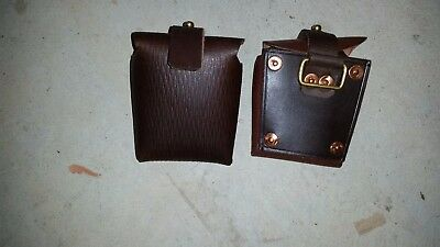 1903 Patt Ammo Pouch Light Horse Mounted Pattern - Ww1  Brown Leather Repro