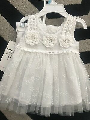 Guess Baby Girls New Dress Size 6-9 Months
