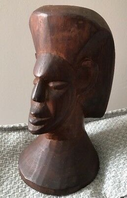 Pacific Island Wooden Carving