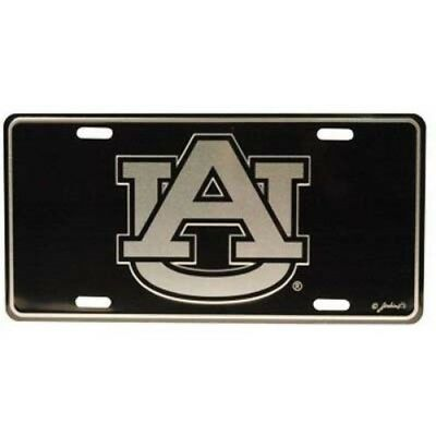 Auburn Tigers Elite Car Truck Tag License Plate Black Sign University Eagle