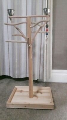 Brand New Wooden Parrot Playstand