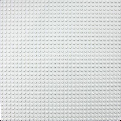 Base Plate - 32X32 Studs Ivory White Baseplate Compatible For Lego