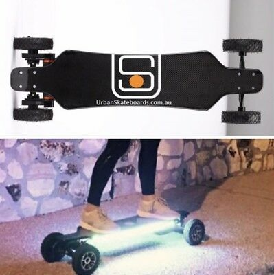 Carbonfibre 2 In 1 38km/h Electric Skateboard