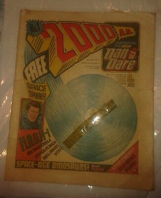 2000ad prog 1 1977 comic - minus Space Spinner see photos for condition