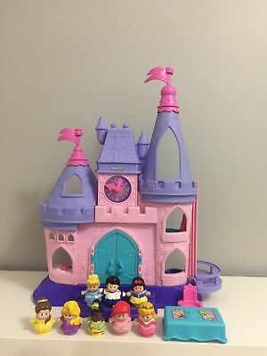 Fisher Price Little People Musical Interactive Seven Disney Princess Castle