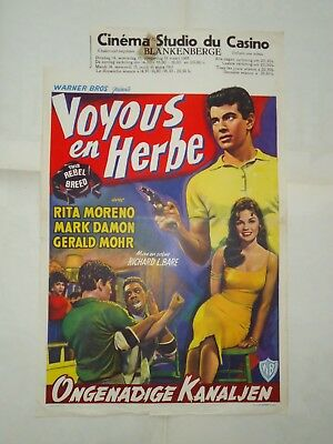 JUVENILES/THIS REBEL BREED /23L/ ORIGINAL  belgian poster
