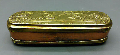 SNUFFBOX/Tobacco Tin - Iserlohn - Brass/Copper - 1774