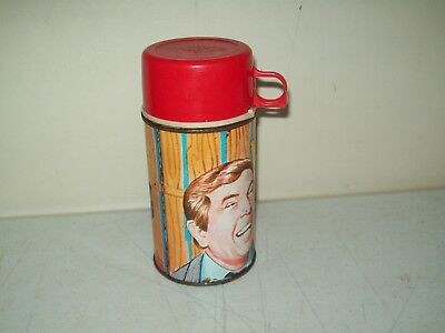 Vintage King Seeley Thermos Vacuum Bottle 8 ounce Lunch box 1970 Hee Haw TV