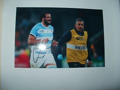 Signed Photo-Juan Figallo-Argentina,saracens Rugby
