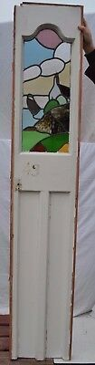 Nautical theme leaded light stained glass window. R671b. WORLDWIDE DELIVERY!!!