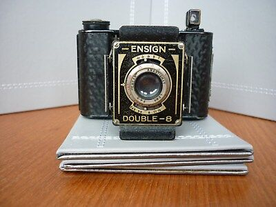 ENSIGN DOUBLE-8 Camera sr No J917 - early model
