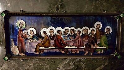 Repujado Ultima Cena. Last Supper