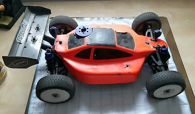 kyosho MP 7.5 mit Startbox Rc car  Verbrenner offroad