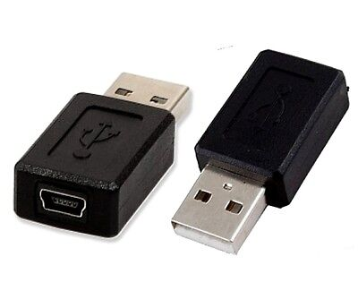 Adaptateur USB 2.0 vers mini USB femelle / USB male Adapter to female mini USB