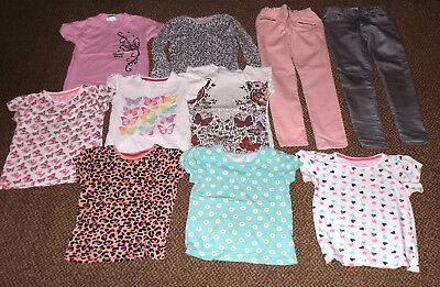 Girls Trousers/t-Shirt Bundle 6-8 Yrs