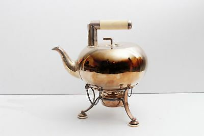 c1870 Richard Hodd & Son Silver Plated Teapot, Possibly Christopher Dresser