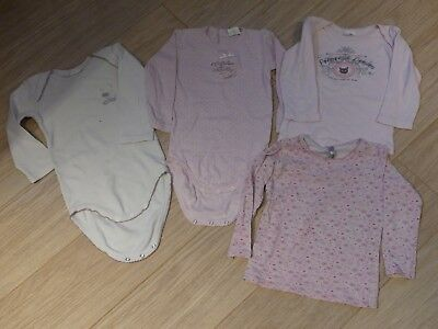 Lot Absorba 18Mois 2Bodies+2Maillots Fille