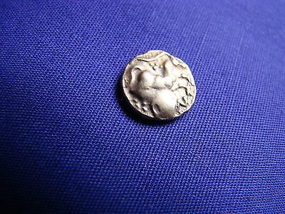 Early 1st Century AD -  40 AD Cunobelin Tribe Gold Quarter Stater