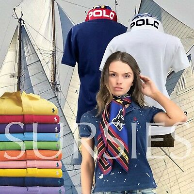 POLO RALPH LAUREN POLO SHIRT Women's Classic & Skinny Fit Polos ALL SIZES