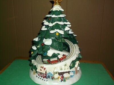 Avon Holiday Tree With Train