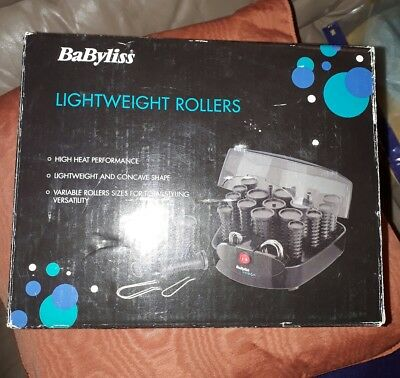 BaByliss Lightweight Heated Rollers