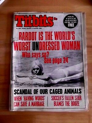 """""""titbits"""" March 1969"""