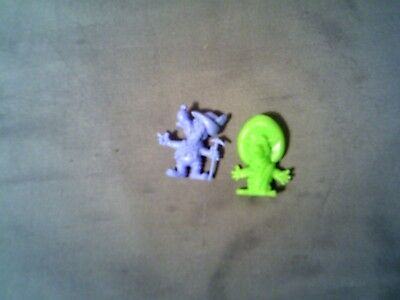 R & L Vintage Cereal Toys Corny Canines X 2 Mint  - Mad Dogs Dawg Dog