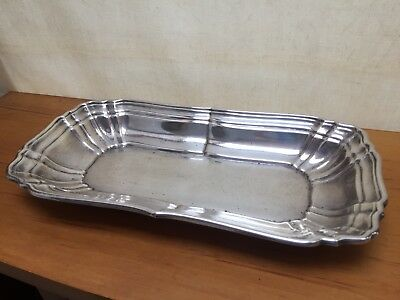 Gorham Sterling Silver Scalloped Pickle Tray # 765