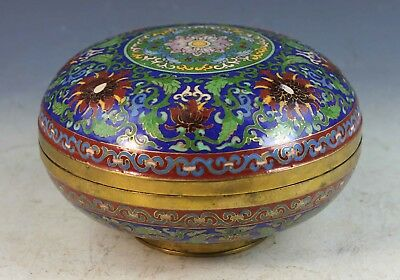 Antique Chinese Export Cloisonne Box