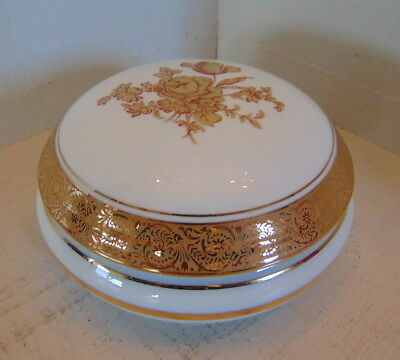 Vintage trinked box - Legle Porcelaien d'art LIMOGES – France – 1970's - MINT