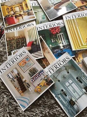 World Of Interiors Magazine job lot collectors editions 2010-2013 various issues
