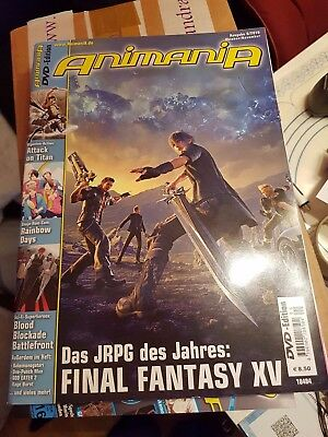Animania 06/2016 (Oktober/ November 2016) inkl. Poster/ ohne DVD