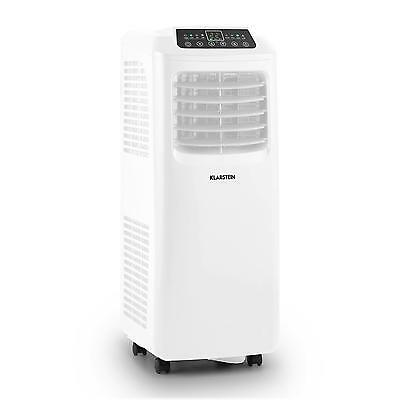 Mobile Klimaanlage Klimagerät Air Conditioner Fernbedienung Weiß 7000BTU EEK A