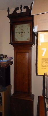 Lovely Old Country 8 Day Long Case clock