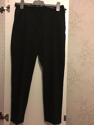 ASOS PETITE Cigarette Trousers With Belt -  Size 8 - Worn Once