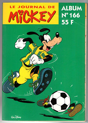 ALBUM LE JOURNAL DE MICKEY n°166 ¤ n°2226 à 2235 ¤ 1995 DISNEY