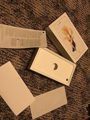 empty box for Apple iPhone 6splus excellent condition- info and stickers includ.