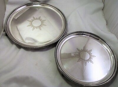 Vintage Silver Plated Trays / Salvers - Harrods